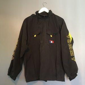 Vintage Tommy Hilfiger Windbreaker Hoodie Jacket